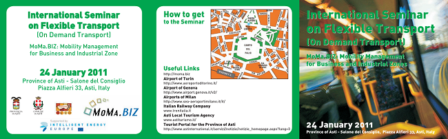 Programme of the International Seminar on Flexible Transport